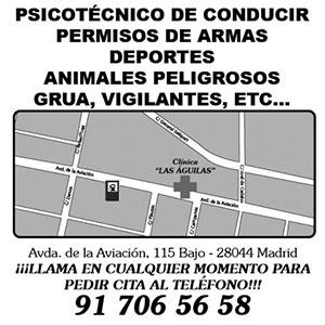 Clinica de reconocimientos médicos Las Aguilas