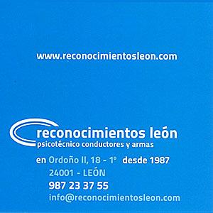 Reconocimientos León