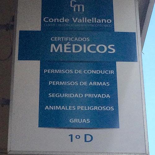 Centro Reconocimiento Psicotécnico CONDE DE VALLELLANO