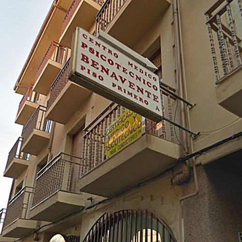 Centro Médico Psicotécnico Benavente