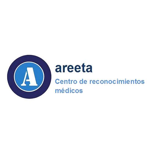 Logotipo Areeta Getxo. Centro de Reconocimientos Médicos.