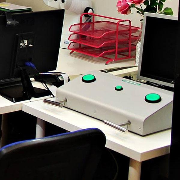 El tipico aparato de los examenes psictécnicos
