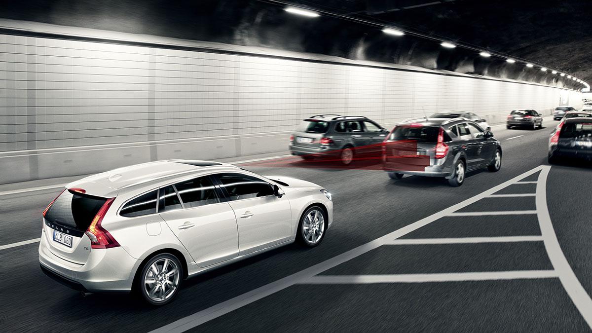 Volvo frenos automaticos