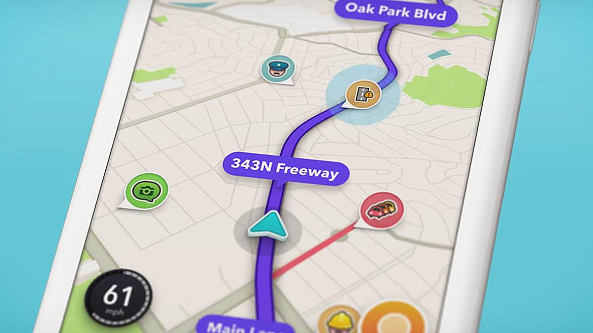 Waze GPS colaborativo