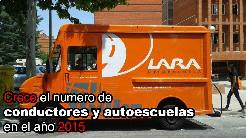 Crece el numero de autoescuelas y conductores en España